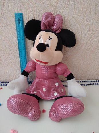 Большая мягкая игрушка Минни Мини Маус, Minni Mouse