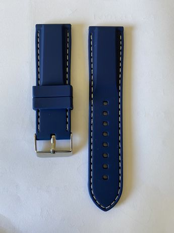 Bracelete de Borracha Azul tamanho 24 Nova