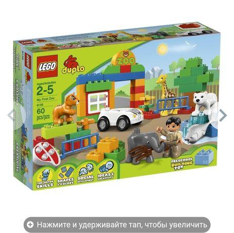 Лего дупло,lego duplo.мой первый зоопарк 6136