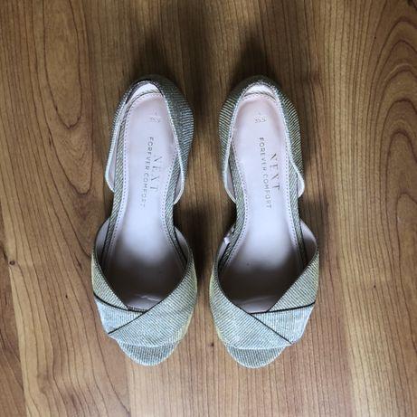 Туфли-балетки Next 35 размер золотые
