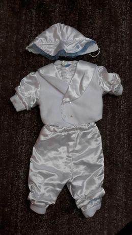 Ubranko komplet do chrztu chłopiec