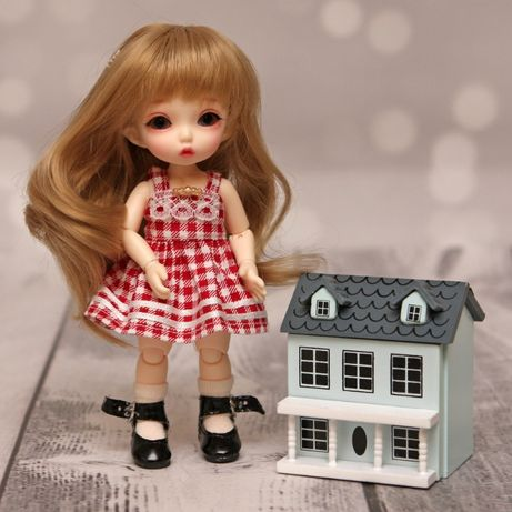 akcesoria dla lalek BJD mini domek dla lalek dla lalek