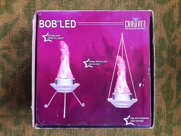 Световой костер Chauvet bob LED за всьо 2000 грн