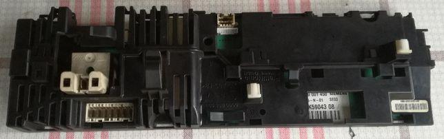 Sterownik programator pralki Siemens Siwamat SW 1140