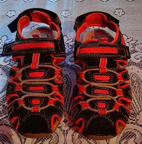 Sandały GEOX 100% SKÓRA NATURALNA dla chłopca Modne Stan BDB+ r.30