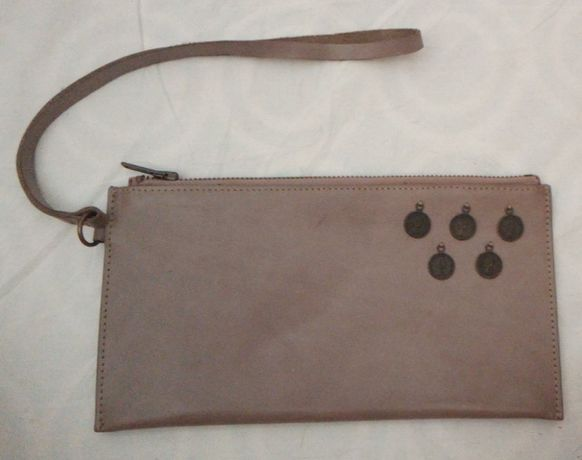 Bolsa de mão em pele Pancaldi 1888 - 2 unidades