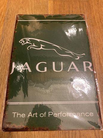 Matricula Placa decorativa Jaguar