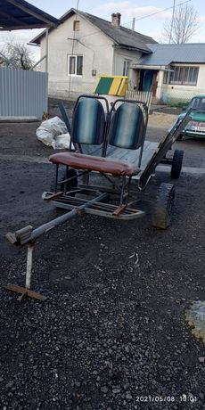 Фіра, телега для мотоблока або міні трактора