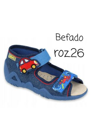 Obuwie Befado sandałki kapcie 350P005 rozm.26 zdrowa stopa