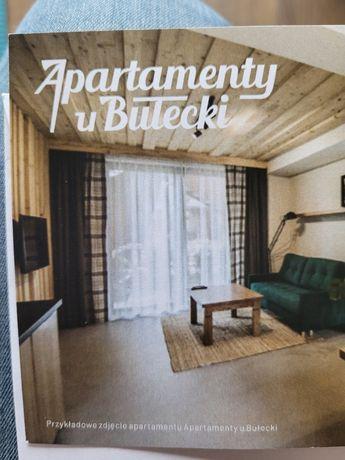 """Voucher - weekendowy pobyt dla 4 os - ZAKOPANE """"Apartamenty u Bułecki"""""""