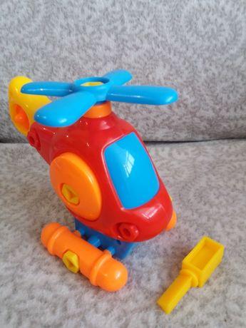 Детский вертолет с отверткой
