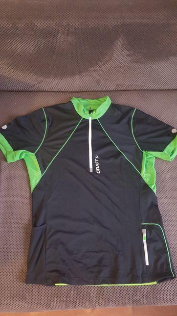 CRAFT koszulka rowerowa, kolarska do biegania roz.L