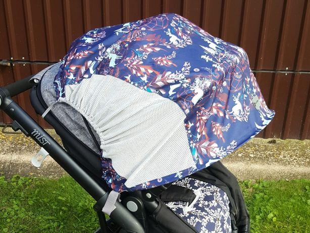 Osłona przeciwsłoneczna do wózka lub spacerówki Rollersy