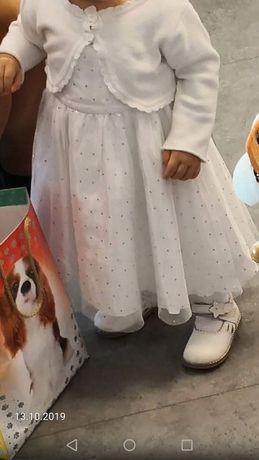Połyskująca sukienka na roczek