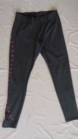 spodnie legginsy under armour fitted heatgeer