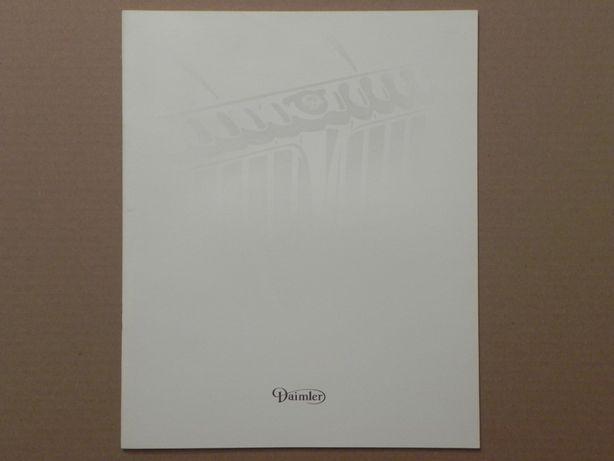 Prospekt - JAGUAR XJ XJ40 - DAIMLER - 1994 r