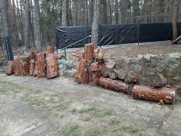 Drewno na opał lub na meble ogrodowe