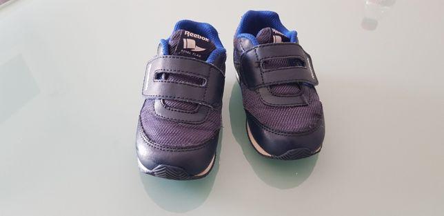 Vendo sapatilhas Reebok azuis tamanho 22.5 em excelente estado