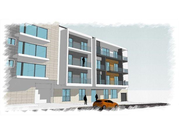 Apartamento T2 com varandas, em construção, novo, centro ...