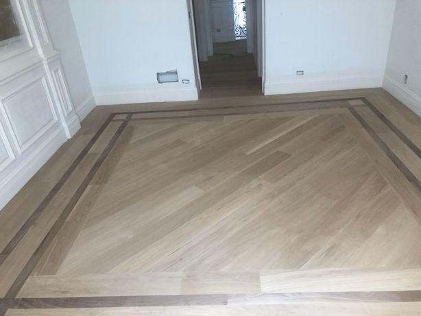 Cyklinowanie układanie renowacja podłog drewnianych