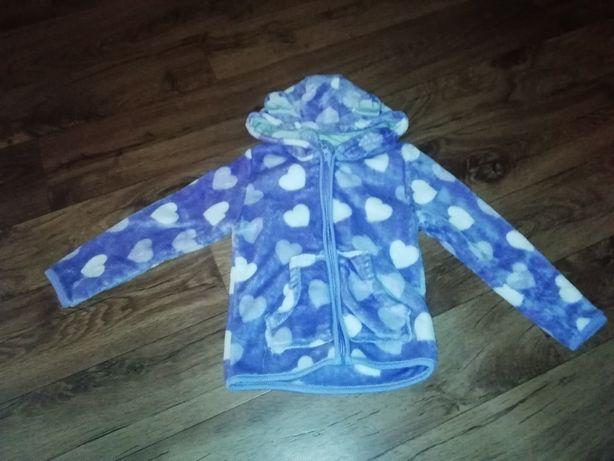 Bluza ciepła dla dziewczynki