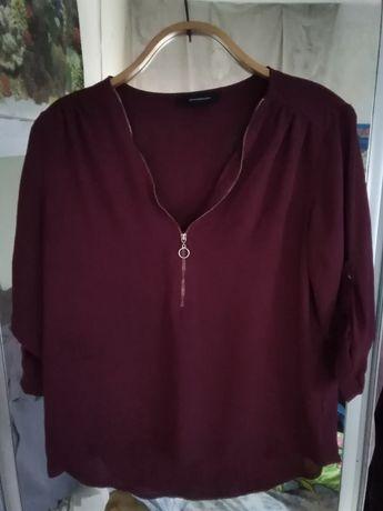 Блуза бордового цвета