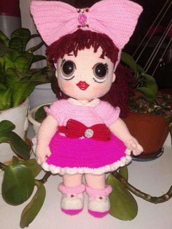 Кукла вязаная LOL. Ручная работа.