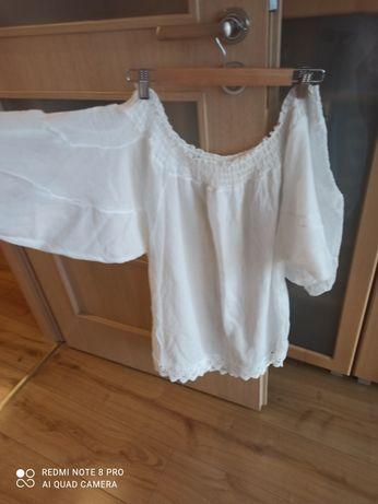 Biała koszula tunika 42-46