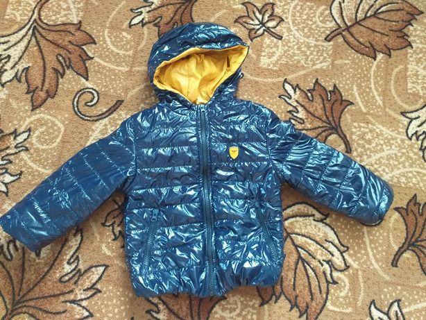 Осіння курточка на хлопчика