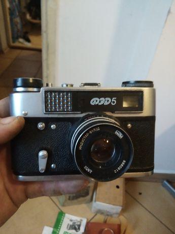 Fotoaparat z 1985r cały komplet z kartonikiem dla kolekcjonera