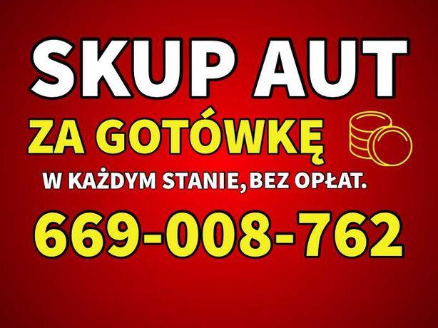 Skup Aut kasacja pojazdów Skup Samochodów złomowanie PŁACIMY NAJLEPIEJ