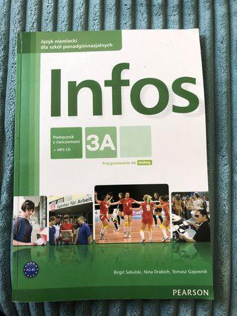 Infos 3A podręcznik z ćwiczenimi+CD Pearson