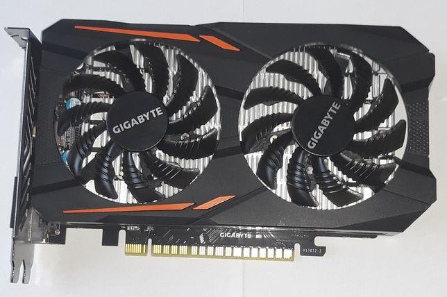Karta graficzna Gigabyte GTX 1050 OC 2GB GDDR5 100% sprawna AKTUALNE