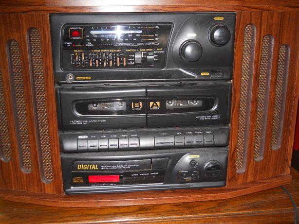 Gramofon/Wieża stylizowana retro MT-2338CD