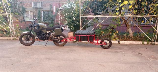 Прицеп для мотоцикла мотоприцеп изготовление прицепов для мотоцикла