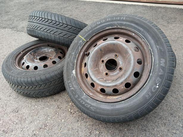 Jantes Peugeot 4x108 c/pneus 185/60R14