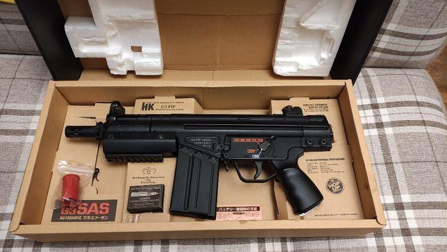 ASG karabin Tokyo Marui HK G3 SAS pip idealny 2 magazynki bateria