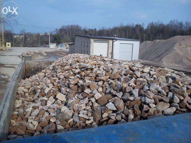 Kamień kruszywo z Zalasu 0-31mm0-63mm 0-16mm 31-63mm tłuczeń kl