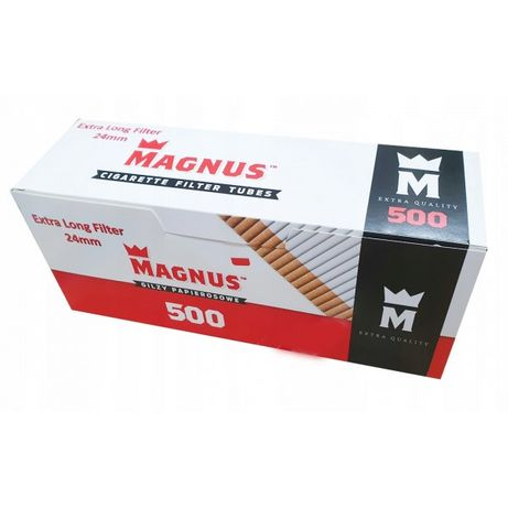 Гильзы для сигарет Магнус Magnus 500 шт (фильтр 24 мм)