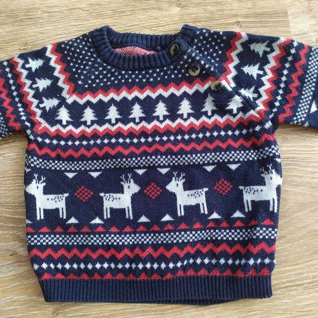 Sweter dziecięcy  62/68 marki TU