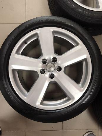 Audi R19 5х112 оригинальные диски с резиной