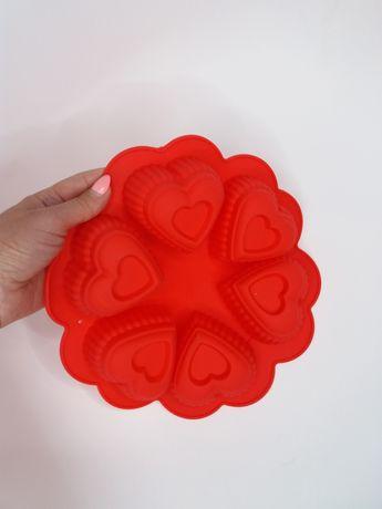 Новая силиконовая форма сердечки