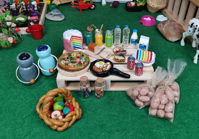 Miniatury,dollhouse,domek lalek,gospodarstwo,farma,gadżety, jedzenie