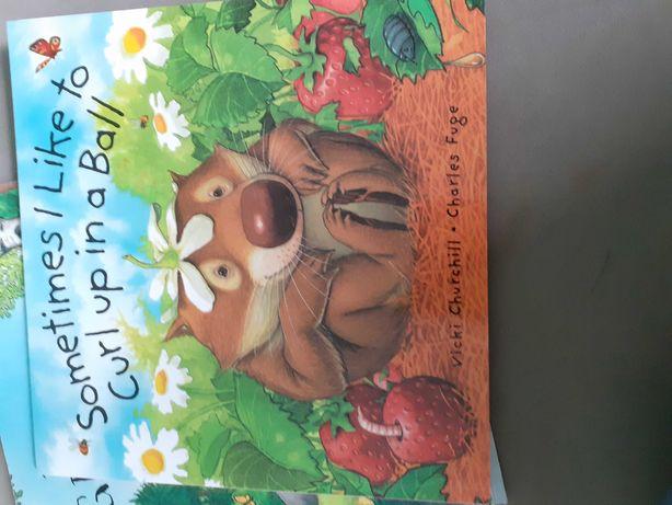 Książka po angielsku dla dzieci  Sometimes I like to curl up in a ball
