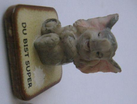 фигурка сувенир керамика слон слоник статуэтка германия 4 см целый