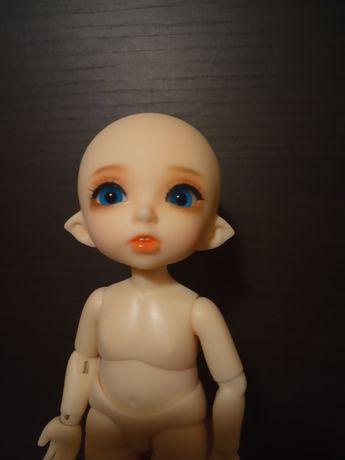 Lalka bjd 1/8 naga makeup+oczy