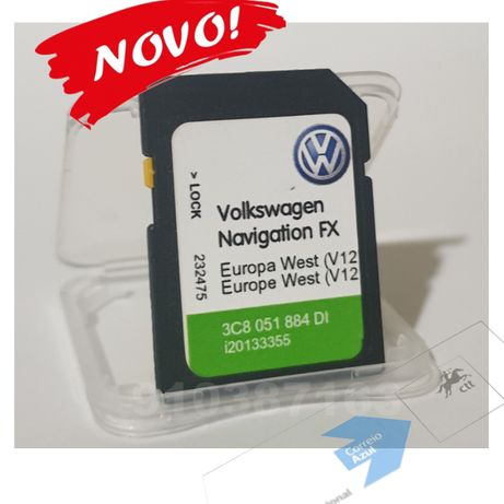 VW - cartao de GPS - RNS 310 Europa 2021 - V12