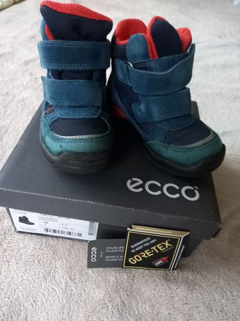 зимові чоботи Ecco Gore-tex для хлопчика 24 р.