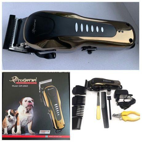 Машинка для стрижки животных собак кошек gm-6063