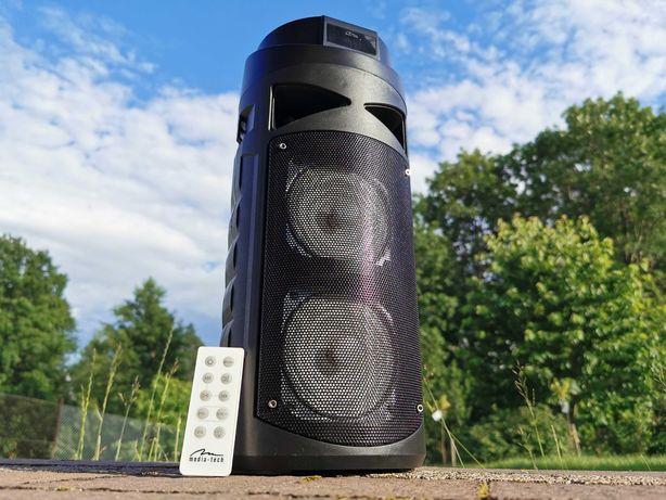 Boombox Głośnik BLUETOOTH Odtwarzacz MP3 Radio Kolumna Wieża Budowlane